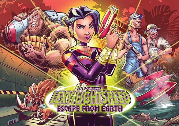 Lexy Lightspeed – Escape from Earth